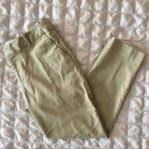 Eddie Bauer Cropped Twill Pants